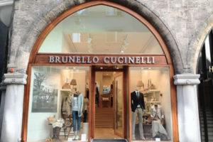 Un negozio monomarca del brand Cucinelli. |Close-up Engineering, sezione Management.
