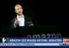 Jeff Bezos - Donazione Sognatori